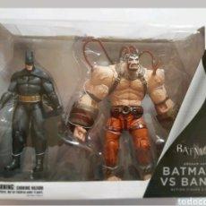 Figuras y Muñecos DC: DC DIRECT BATMAN ARKHAM PACK FIGURAS BATMAN Y BANE NUEVO DESCATALOGADO DIFICIL. Lote 177204014