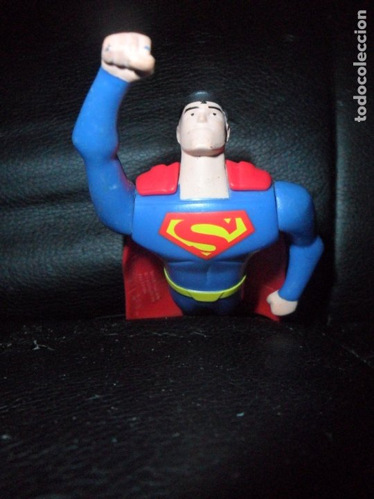 SUPERMAN - FIGURA DE ACCION, JUSTICE LEAGUE - 2016 DC COMICS MCDONALDS - (Juguetes - Figuras de Acción - DC)