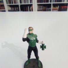 Figuras y Muñecos DC: FIGURA RIGIDA TIPO PLOMO GREEN LANTERN LINTERNA VERDE 10 CMS EXCELENTE ESTADO. Lote 181924655
