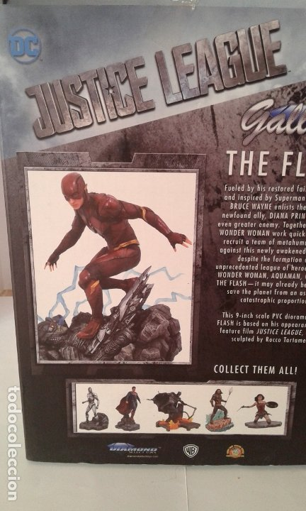 Figuras y Muñecos DC: DC Comics, DC Justice League Gallery The Flash, figura 9 inch/23 cm (Diamond Select Toys) - Foto 4 - 182954673