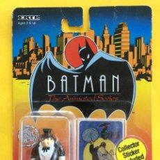 Figuras y Muñecos DC: THE ERTL COMPANY - ANIMATED SERIES BATMAN - THE PENGUIN - 1993 M.O.C.. Lote 183622626