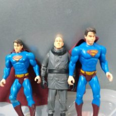 Figuras y Muñecos DC: LOTE 3 FIGURAS DE ACCION DC COMICS PELICULA SUPERMAN RETURNS. Lote 183960525