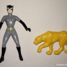 Figuras y Muñecos DC: FIGURA CATWOMAN LEOPARD LEOPARDO DC 1993 BATMAN THE ANIMATED SERIES. Lote 26488021