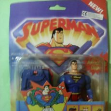 Figuras y Muñecos DC: CAPTURE NET SUPERMAN KENNER THE ANIMATED SHOW. Lote 186267636