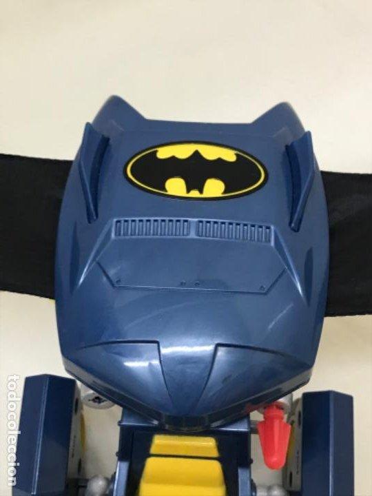 Figuras y Muñecos DC: Antiguo coche batman azul batmobile batmovil dc aerobat alas desplegables - Foto 3 - 190407418