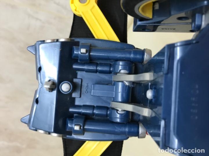 Figuras y Muñecos DC: Antiguo coche batman azul batmobile batmovil dc aerobat alas desplegables - Foto 7 - 190407418