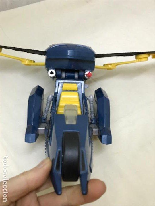 Figuras y Muñecos DC: Antiguo coche batman azul batmobile batmovil dc aerobat alas desplegables - Foto 10 - 190407418