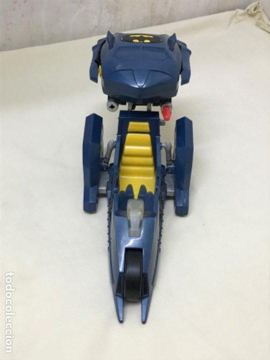 Figuras y Muñecos DC: Antiguo coche batman azul batmobile batmovil dc aerobat alas desplegables - Foto 11 - 190407418