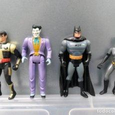 Figuras e Bonecos DC: LOTE 4 FIGURAS DE ACCION BATMAN ANIMATED SERIES AÑOS 90 BATMAN ROBIN JOKER CATWOMAN. Lote 191639622