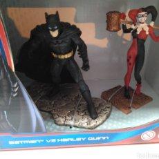 Figuras y Muñecos DC: FIGURAS BATMAN VS HARLEY QUINN. Lote 193169485