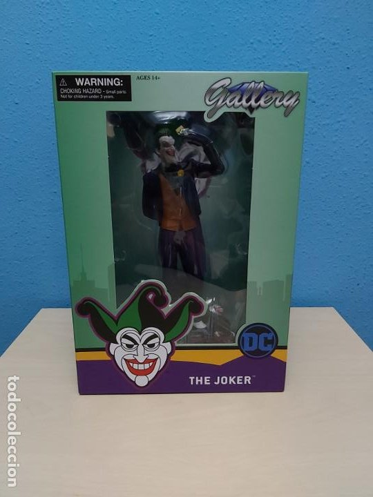 THE JOKER DC COMICS BATMAN DIAMOND GALLERY - NUNCA USADO LO ESTRENAS TU (Juguetes - Figuras de Acción - DC)