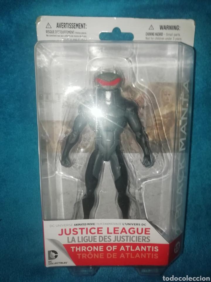 Figuras y Muñecos DC: Justice League Black Manta Throne of Atlantis - Foto 4 - 194206921