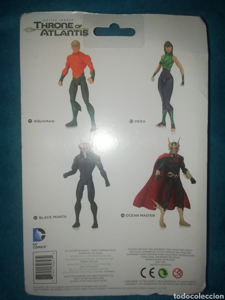 Figuras y Muñecos DC: Justice League Black Manta Throne of Atlantis - Foto 5 - 194206921