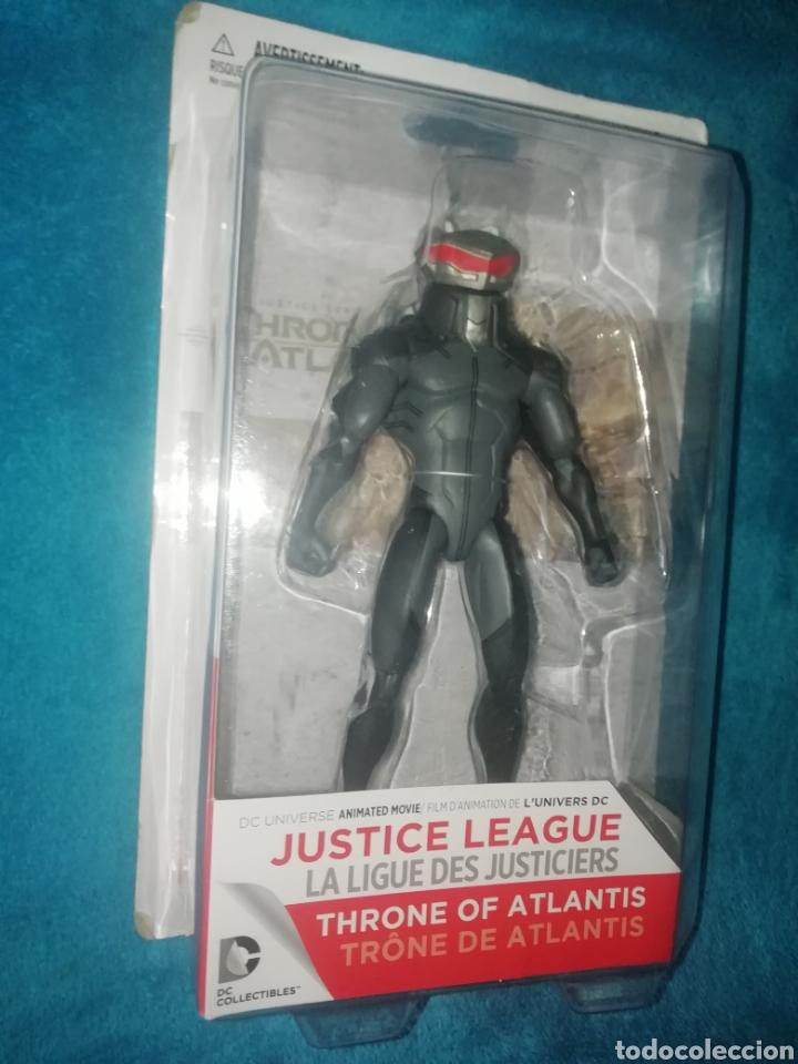 JUSTICE LEAGUE BLACK MANTA THRONE OF ATLANTIS (Juguetes - Figuras de Acción - DC)