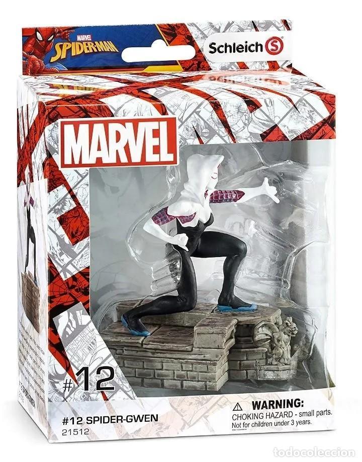 FIGURA SPIDER GWEN DE GRAN TAMAÑO, SERIE DC COMICS, EN SU CAJA ORIGINAL PRECINTADA. (Juguetes - Figuras de Acción - DC)