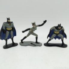 Figuras y Muñecos DC: FIGURAS BATMAN ERTL (1992) Y CATWOMAN - KENNER (1994), DC COMICS. Lote 194499612