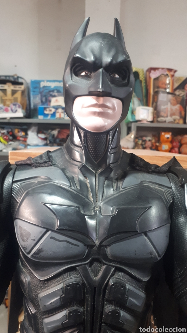 Figuras y Muñecos DC: Impresionante figura BATMAN EL CABALLERO OSCURO 75 CM ALTURA DC COMICS - Foto 2 - 195000518