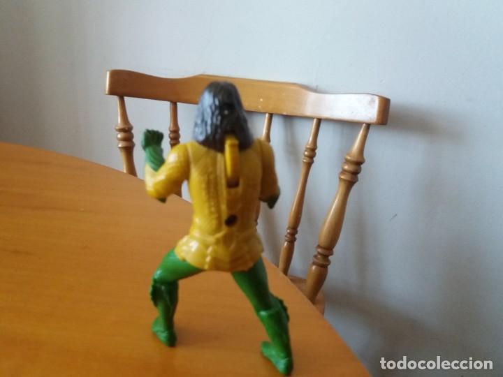 Figuras y Muñecos DC: Figura Aquaman. DC. TM. Burguer King. Le falta el tridente. - Foto 3 - 195013486