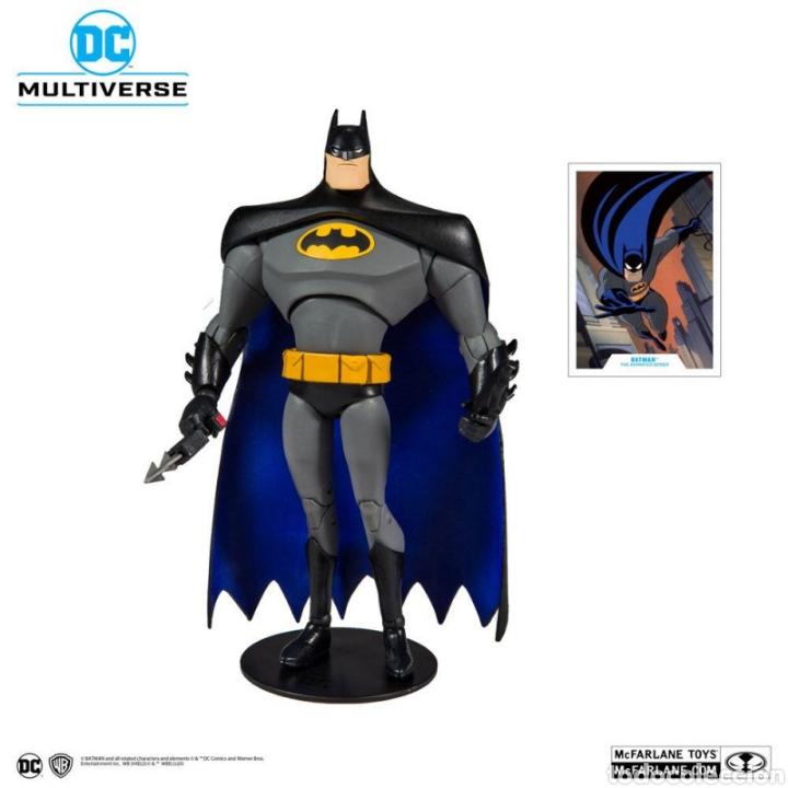 Figuras y Muñecos DC: FIGURA BATMAN THE ANIMATED SERIES MCFARLANE MULTIVERSE DC COMICS - Foto 2 - 195359318