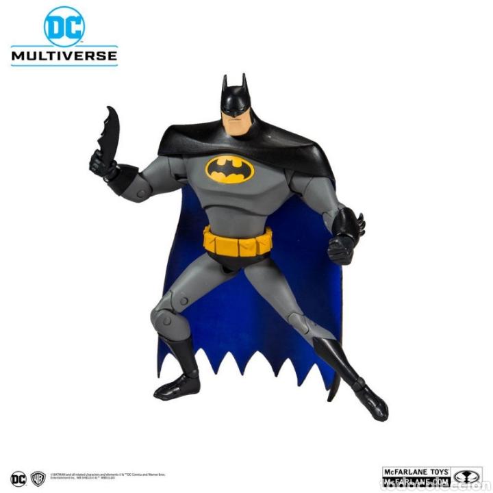 Figuras y Muñecos DC: FIGURA BATMAN THE ANIMATED SERIES MCFARLANE MULTIVERSE DC COMICS - Foto 7 - 195359318