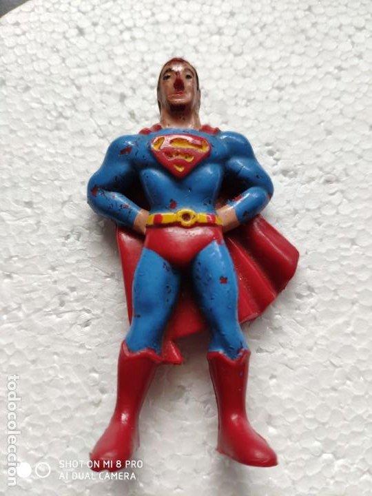 FIGURA DESUPERMAN - DC COMICS INC – EURA - SPAIN - AÑOS 70 (Juguetes - Figuras de Acción - DC)