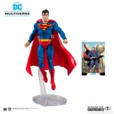 Figuras y Muñecos DC: FIGURA SUPERMAN DC REBIRTH MODERN ACTION COMICS 1000 MCFARLANE MULTIVERSE DC COMICS. Lote 201727223