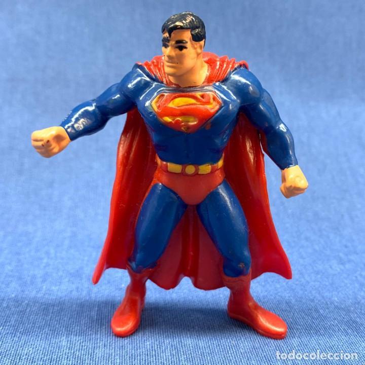 FIUGURA SUPERMAN - DC COMICS - AÑO 1992 - 9.5 CM (Juguetes - Figuras de Acción - DC)