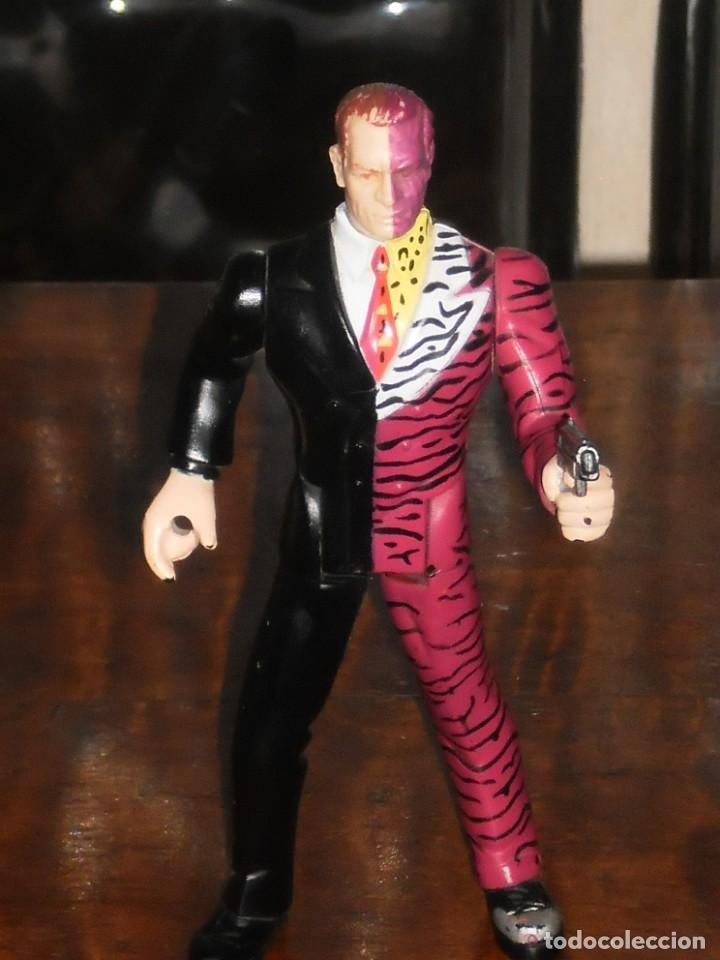 Figuras y Muñecos DC: FIGURA ARTICULADA - HARVEY DOS CARAS – 1994 DC Comics Inc. –KENNER - Foto 7 - 204708806