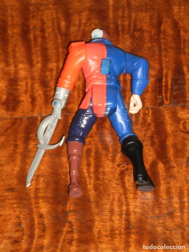 Figuras y Muñecos DC: FIGURA ARTICULADA HARVEY DOS CARAS - PIRATA – 1995 DC Comics Inc. – KENNER - Foto 10 - 204709813