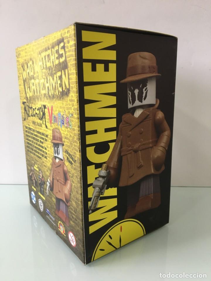 Figuras y Muñecos DC: Figura de vinilo Rorschach Vinimates (12 cm) Watchmen - Foto 8 - 204841245