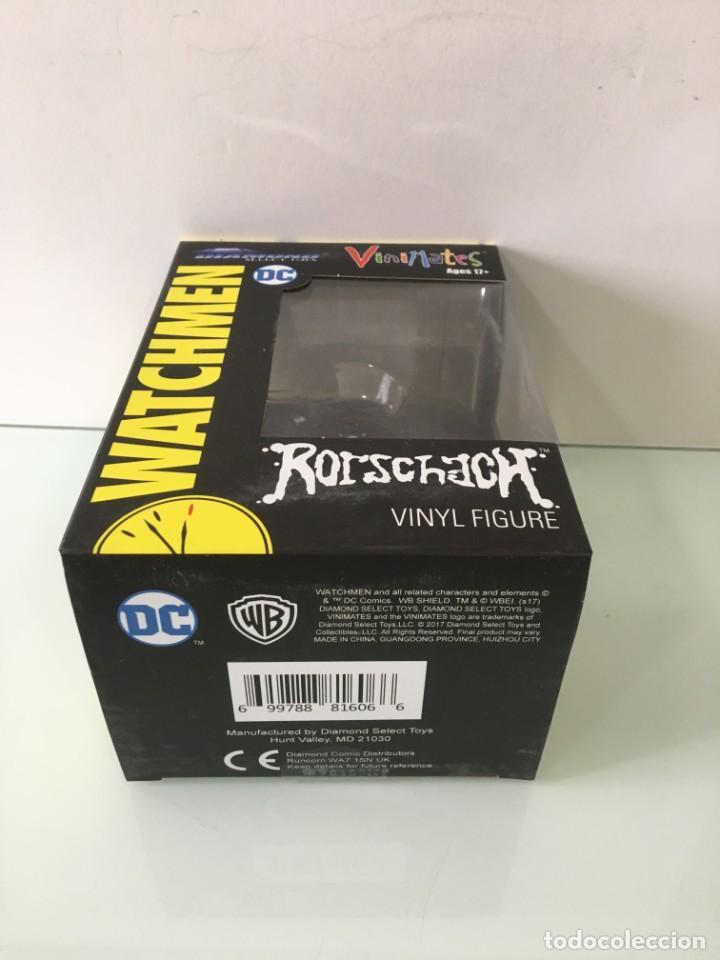 Figuras y Muñecos DC: Figura de vinilo Rorschach Vinimates (12 cm) Watchmen - Foto 12 - 204841245