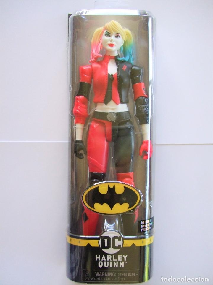FIGURA HARLEY QUINN 30 CM 12 PULGADAS - SPIN MASTER SPINMASTER BIZAK BATMAN DC COMICS COMIC (Juguetes - Figuras de Acción - DC)