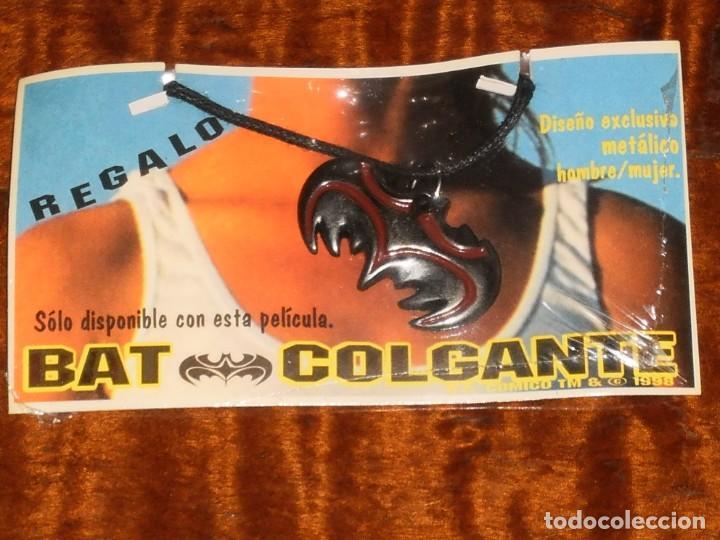 COLGANTE METALICO BATMAN - BAT COLGANTE - DC COMICS TM & C 1998 . (Juguetes - Figuras de Acción - DC)