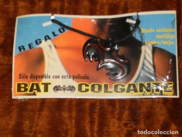 Figuras y Muñecos DC: COLGANTE METALICO BATMAN - BAT COLGANTE - DC COMICS TM & c 1998 . - Foto 2 - 205548683