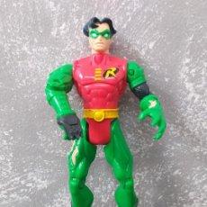 Figuras y Muñecos DC: FIGURA DE ACCION DC COMICS ROBIN COMPAÑERO DE BATMAN KENNER VINTAGE AÑOS 90. Lote 206427860