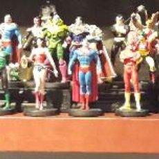 Figuras y Muñecos DC: COLECCION COMPLETA DE 50 FIGURAS DE PLOMO DC ALTAYA + EXCLUSIVA + EXTRAS ALTAYA JLA SUPERMAN BATMAN. Lote 208491237