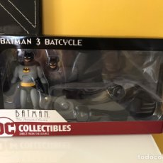 Figurines et Jouets DC: BATMAN Y BATCYCLE THE ANIMATED SERIES. Lote 211321401
