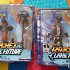 Figuras y Muñecos DC: LOTE 2 FIGURAS RATCHET ¬ CLANK FUTURE PS4-DC UNLIMITED. Lote 213465187