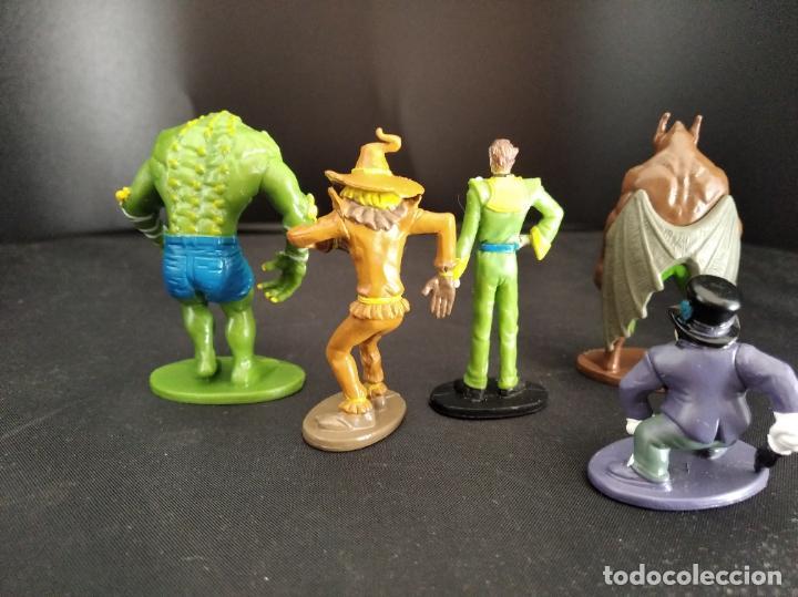 Figuras y Muñecos DC: LOTE VILLANOS DE BATMAN- FIGURAS PVC 6CM. DC COMICS 2012- RAS AL GHUL, KILLER CROC, ESPANTAPAJAROS, - Foto 3 - 213769213
