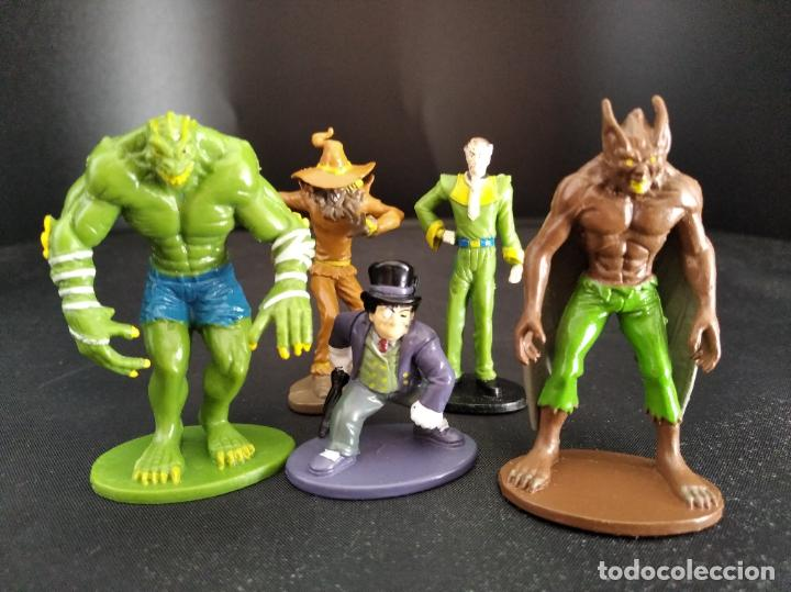 Figuras y Muñecos DC: LOTE VILLANOS DE BATMAN- FIGURAS PVC 6CM. DC COMICS 2012- RAS AL GHUL, KILLER CROC, ESPANTAPAJAROS, - Foto 4 - 213769213
