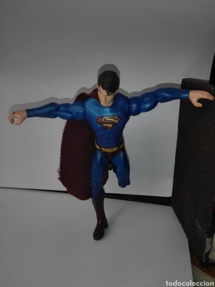 Figuras y Muñecos DC: SUPERMAN- DC CÓMIC - 13 CM- ARTICULADO - Foto 7 - 215228440