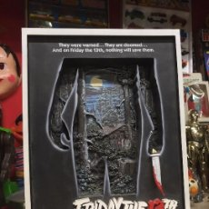 Figuras y Muñecos DC: CARTEL 3D VIERNES 13 MOVIE POSTER - MCFARLANE TOYS 2006 FRIDAY THE 13TH 3 D. Lote 216815858