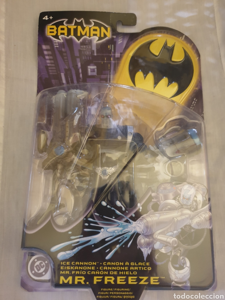 DC UNIVERSE BATMAN SERIES FIGURA MR FREEZE, NUEVA PRECINTADA, DIFÍCIL (Juguetes - Figuras de Acción - DC)