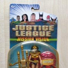 Figuras y Muñecos DC: FIGURA DE ACCION JUSTICE LEAGUE WONDER WOMAN MISSION VISION. Lote 218129322