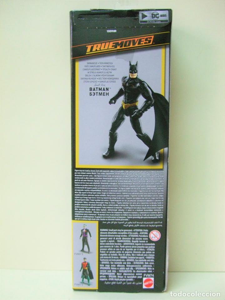 Figuras y Muñecos DC: FIGURA BATMAN STEALTH SUIT 30 CM 12 PULGADAS - BATMAN MISSIONS MATTEL DC COMICS NEGRO BLACK MUÑECO - Foto 3 - 218900507