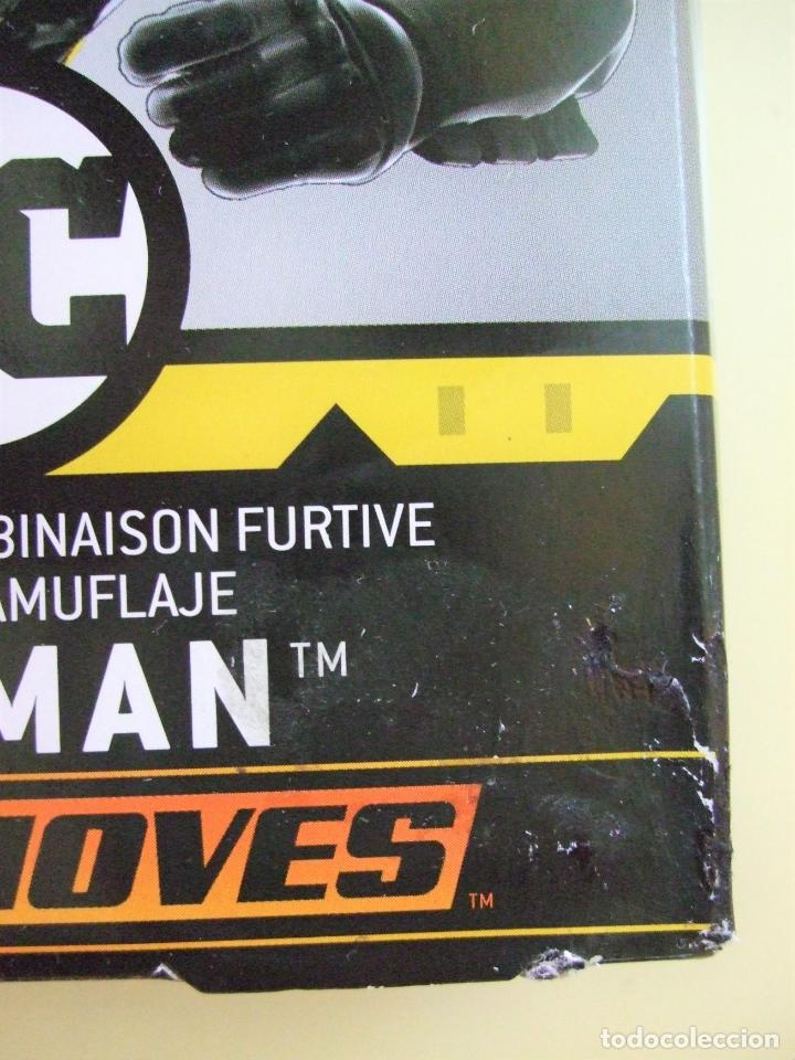 Figuras y Muñecos DC: FIGURA BATMAN STEALTH SUIT 30 CM 12 PULGADAS - BATMAN MISSIONS MATTEL DC COMICS NEGRO BLACK MUÑECO - Foto 6 - 218900507