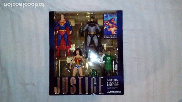 JUSTICE ALEX ROSS DC DIRECT FIGURAS SUPERMAN, BATMAN, WONDER WOMAN, GREEN LANTERN SUPERHÉROES (Juguetes - Figuras de Acción - DC)