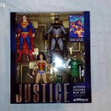 Figuras y Muñecos DC: JUSTICE ALEX ROSS DC DIRECT FIGURAS SUPERMAN, BATMAN, WONDER WOMAN, GREEN LANTERN SUPERHÉROES. Lote 219227773