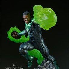 Figuras y Muñecos DC: GREEN LANTERN SIDESHOW ESTADO COMO NUEVO SIEMPRE GUARDADA EN CAJA NEGOCIABLE. Lote 219357270