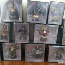Figuras y Muñecos DC: LOTE 11 FIGURAS DC BUSTO, BATMAN, ROBIN, JOKER, SUPERMAN, Y OTRAS NUEVAS EN SU CAJA PRECINTADAS. Lote 221389421